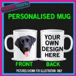 BLACK LAB DOG LABRADOR MUG GIFT BIRTHDAY